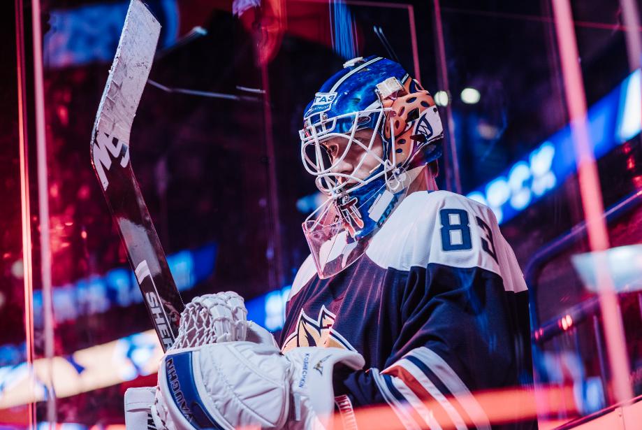 Василий Кошечкин – лучший вратарь восьмой недели чемпионата КХЛ