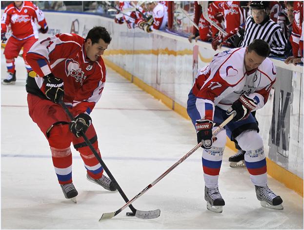 Акция хоккейного клуба металлург